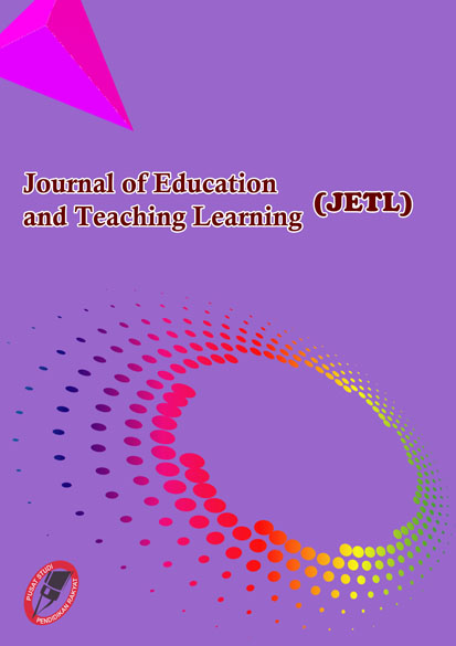 View Vol. 3 No. 3 (2021): Journal of Education and Teaching Learning (JETL)